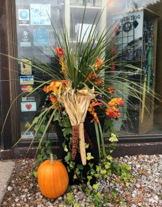Fall Halloween Arrangement